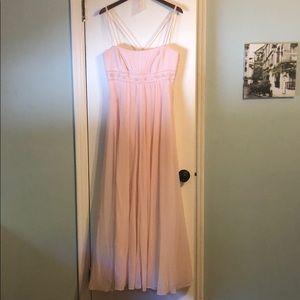 David's Bridal Bridesmaid dress, size 12